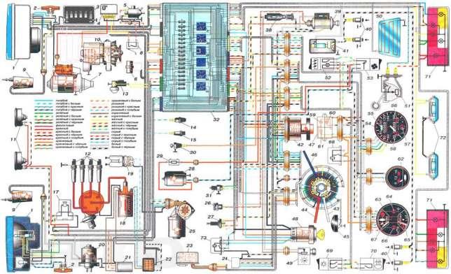 1) Высоковольтные провода